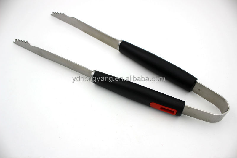 2014 new style pp handle 3pcs bbq tool set