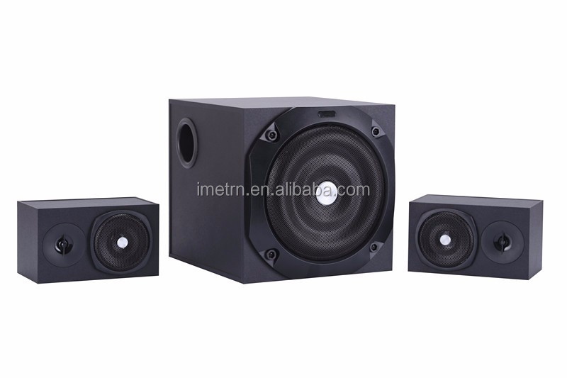 Factory Wholesale 2.1 bluetooth speaker/2.1 speaker with usb/sd/fm/remote control