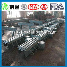 flexible rubber expansion joint for filer bridge