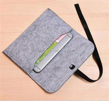 New Arrival Wool felt Laptop Case Bag for ipad for sale 11 inch to 15 inch