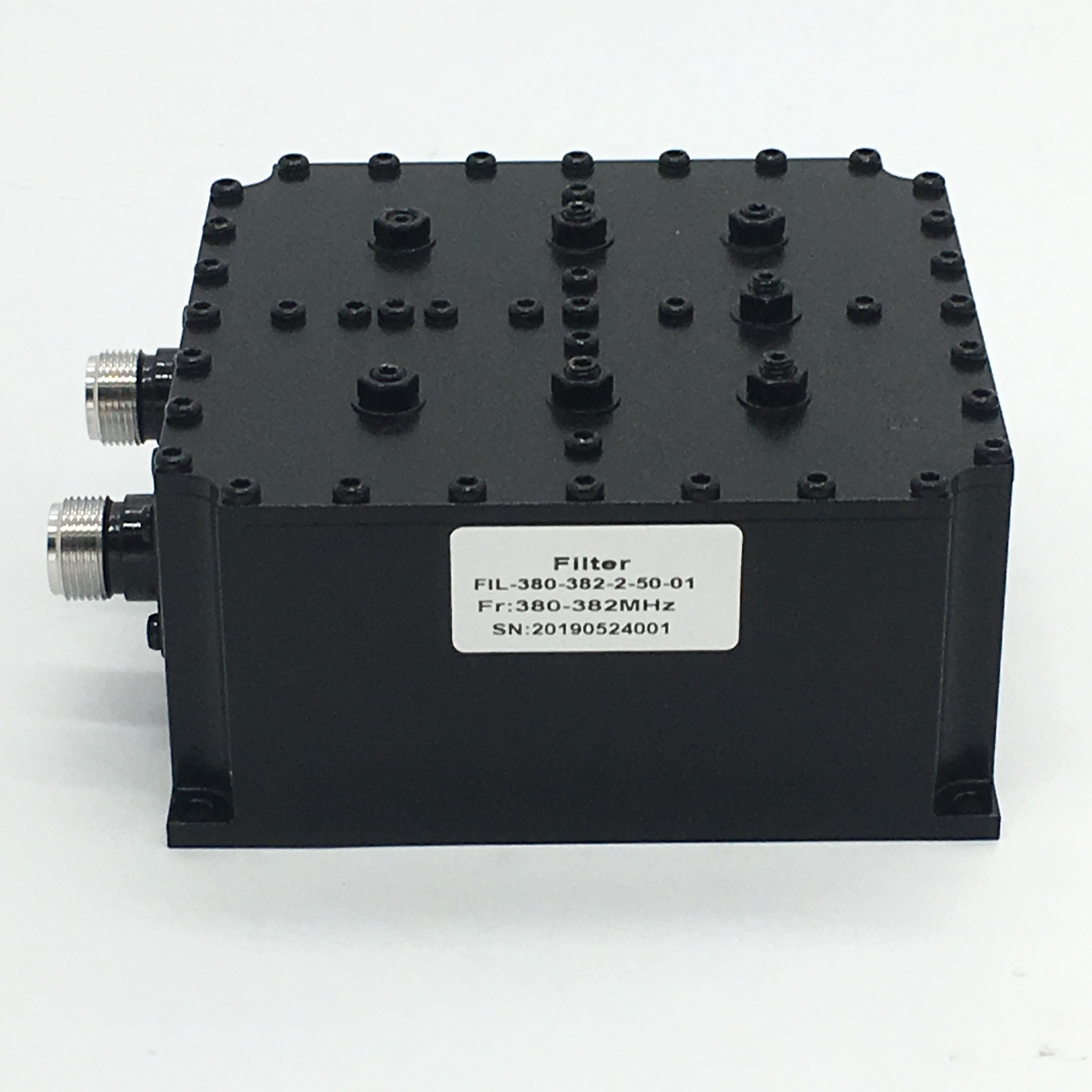 UHF Filter 380~382MHz  RF Bandpass Filter for Tetra Repeater