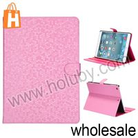 Basketball Pattern Magnetic Flip Stand PC+Leather Case For iPad Air With Grooves
