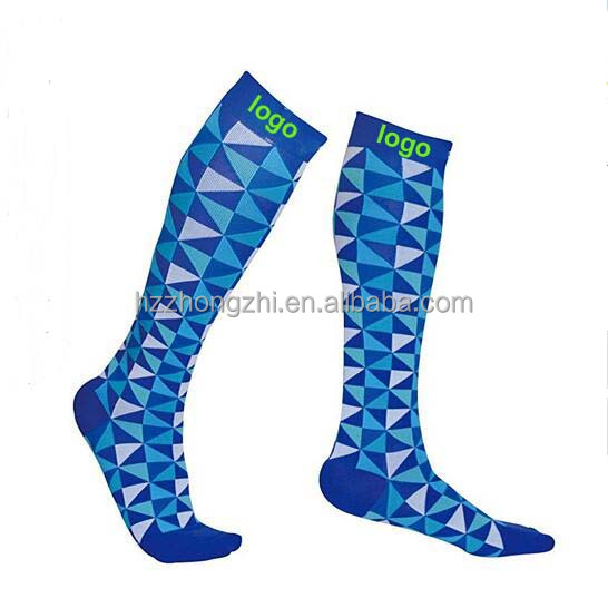 blue diamond sports stocking with compression