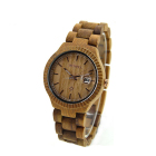 Bewell 2016 New Arrival Bamboo Wooden Watch, Custom Logo Japan Movt Quartz Wood Watch