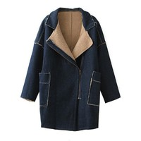 2014 winter jackets and coats side pocket turkish women coats