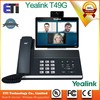 "Yealink SIP-T49G video collaboration phone Bluetooth 4.0 with EDR 8"" Full-HD 1080p Video Android phone"