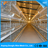 cheap wholesale automatic folding chicken cage