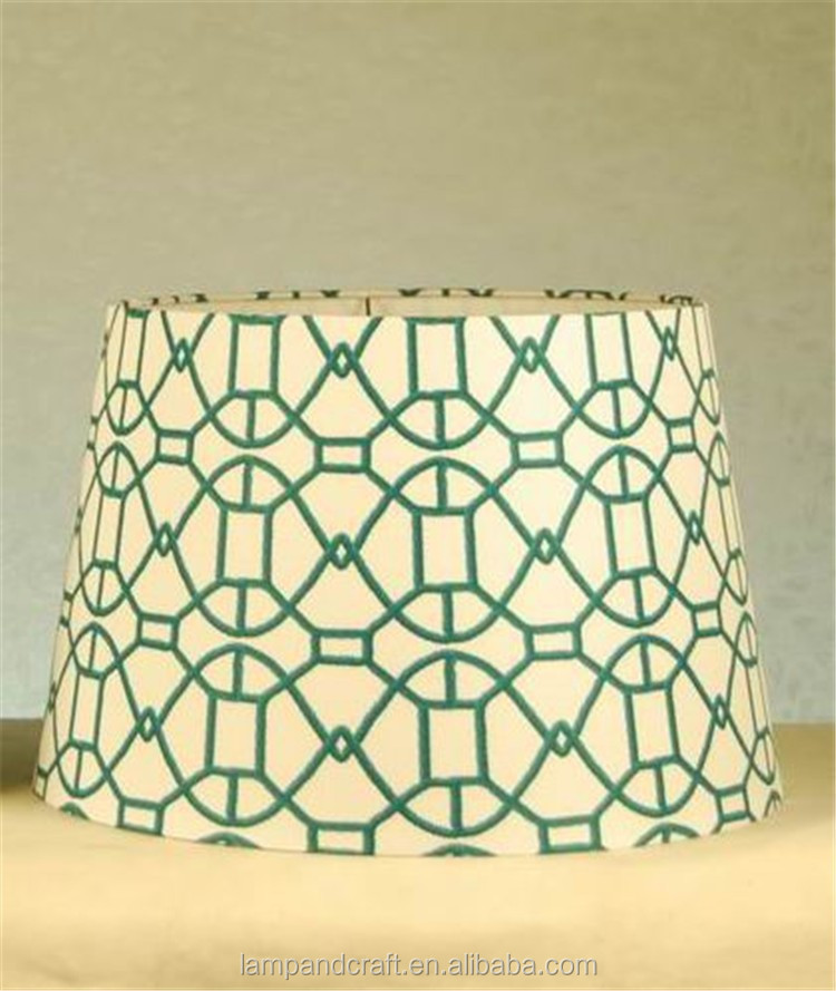 fabric handicraft lampshade mass production high quality best price hot living room bedroom garden centerpiece home decor