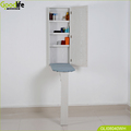 Wholesale white wall mounted ironing center with mirror