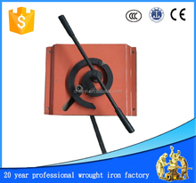 wrought iron manual scroll bender, small bender hand tools arc bending machine metal crafts scroll making hand tools