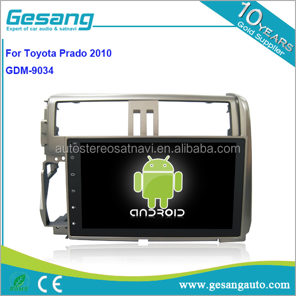 Gesang HD touch screen Car audio and video for TOYOTA Prado 2010 with Quad Core Rockchip 3188 1080P 16g ROM WiFi 3G