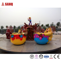 New design amusement coffee cup equipment for kids/best price of coffee cup rides fo selling