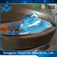 New Products 2016 Auto Light Protective PE Blue Film