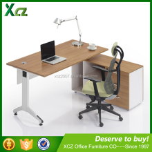 2016 L-shape wooden modern office table photos design