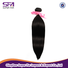 unprocessed 7A grade brazilian straight hair extensions