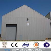 low cost EPS sandwich panel prefabricated steel warehouse