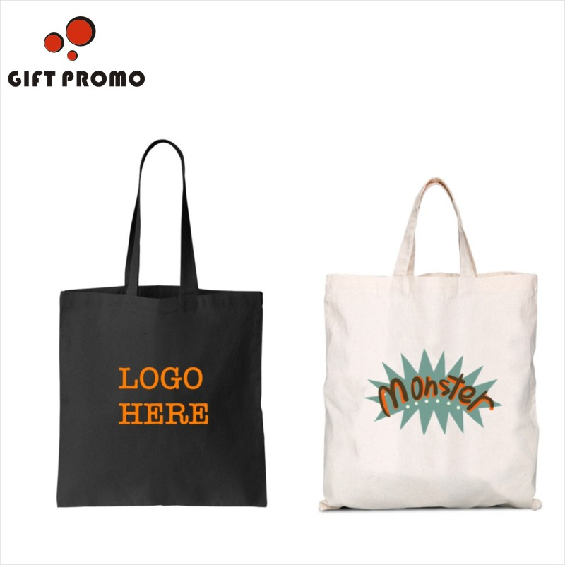 Promotional Top Quality Cheap Custom Canvas Cotton Tote Bag