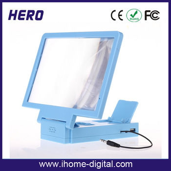 Hot selling mobile phone screen magnifier