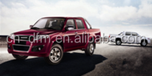 Dongfeng RHD Gasolina 2WD carro pickup cabine dupla