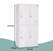 Knock Down Furniture Used Four Door Metal Lockers