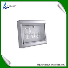 High quality best price steel free standing metal mailboxes