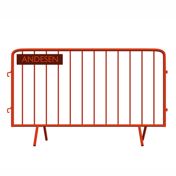 Temporary traffic barricade traffic barriercrowd control barrier