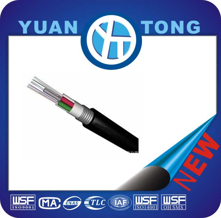 96 Core Single Mode GYTA Optical Cable for Aerial Application