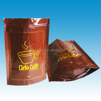 China Stand Up Foil pouch Plastic Coffee Bag Manufacturer