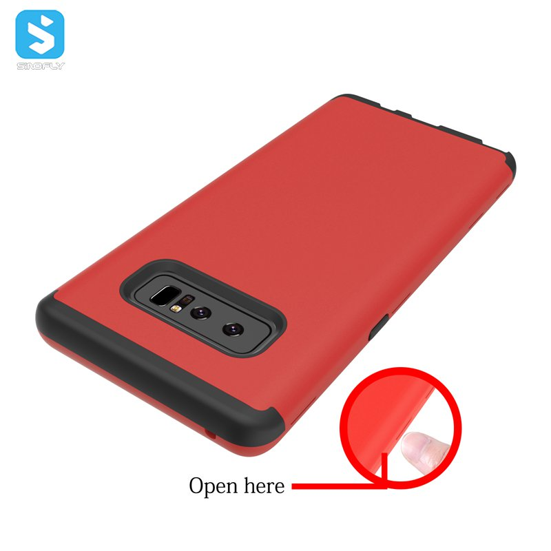 Top Selling Products 2017 Leather Oil Mobile Phone Cover For SAMSUNG Galaxy Note 8 Case