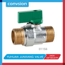 "1/4"" Female x 1/4"" Male NPT Mini Ball valve"