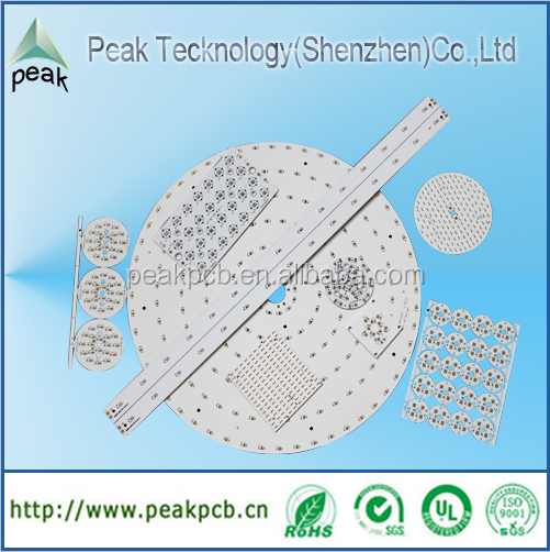 Customized Aluminum led pcb, led pcb board for led light with motherboard price