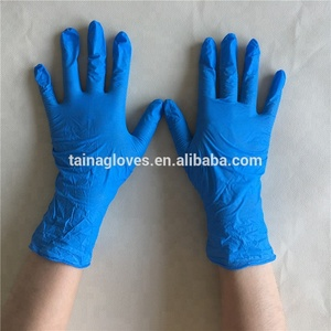 cheap disposable non sterile blue nitrile exam gloves