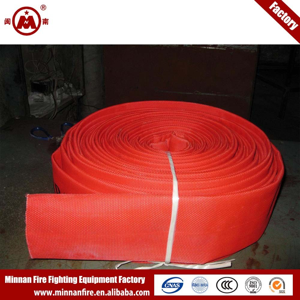 Red Rubber Fire Hose