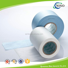 Soft elastic nonwoven fabric elastic ear for baby diaper raw material