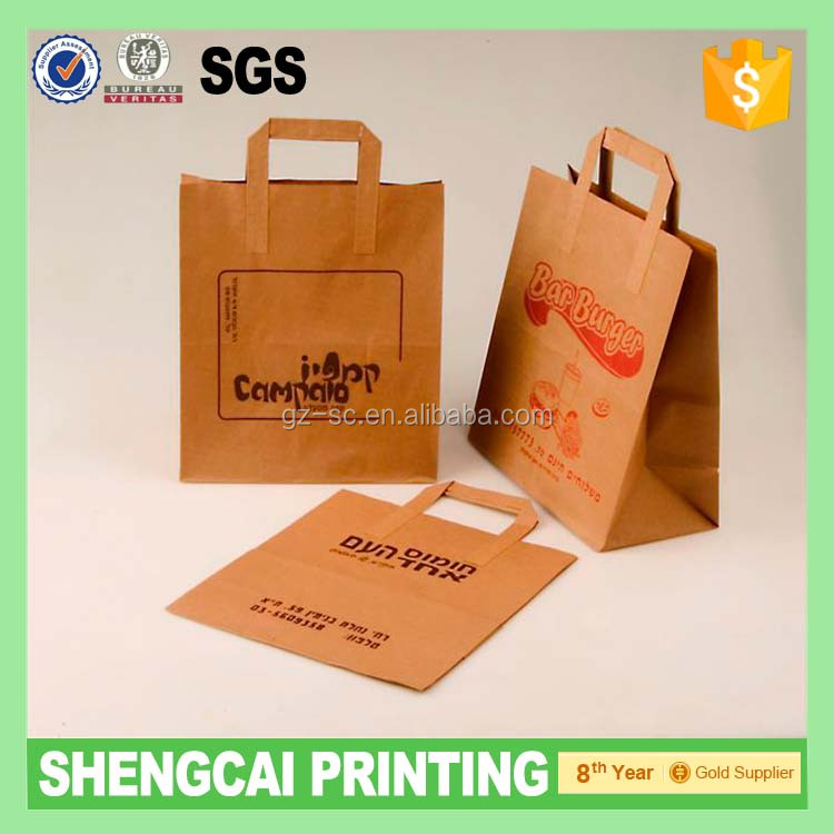 kaft paper Bread paper bag with your shop name