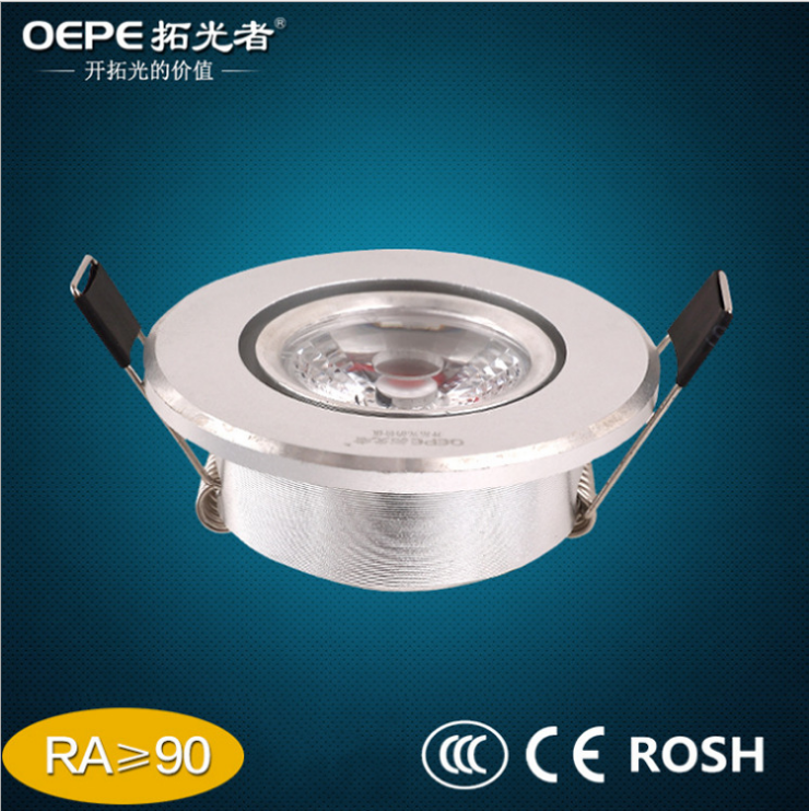 Jewelry Cabinet Lighting 3W Cob Led Ceiling Light