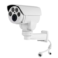 1080P Bullet 4X Zoom Pan Tilt Outdoor IR PTZ Waterproof CMOS IP Camera