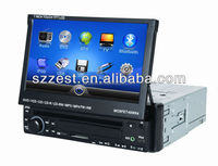 ZESTECH 7 inch In Dash touch screen car DVD player with single din