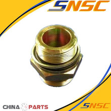 Lonking Parts LG855B LG853 LG50F Zl50 ,306016D Single flow stabilizer valve inlet adapter