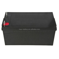 12v 300ah vrla rechargeable deep cycle sealed lead acid solar gel battery