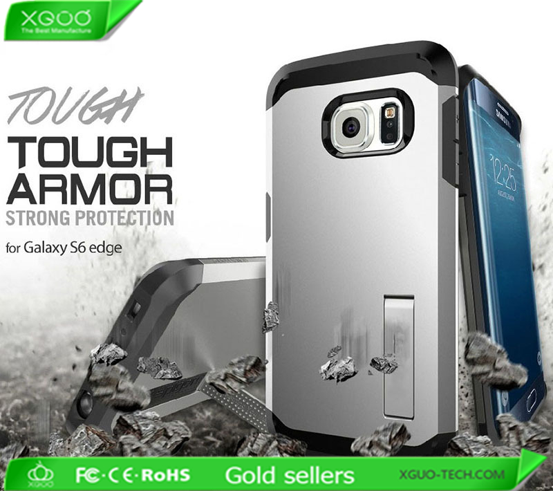 Slim armor mobile case for Samsung Galaxy S6 edge