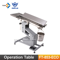 FT-853-ECO Vet Clinic Ophthalmology Operating Table Veterinary Dental Equipment