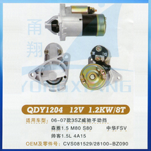 Chinese motorcycle starter motor ,starter motor for Chinese motorcycle
