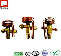 Air conditioner auto electronic temperature responsive expansion valves