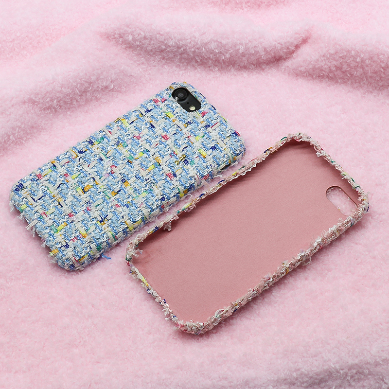 Factory direct sale leather back cover for iphone 8 leather back case
