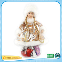New and fine quality food level lovely doll display gift packaging chocolate candy box