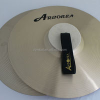 Hand made professional polishing FJA 350 Marching Cymbal