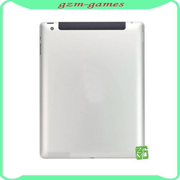 Low Price Metal Housing Back Cover Replacement 3G Version for iPad 4