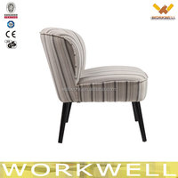 WorkWell wooden fabric living room chairs for kids Kw-D4219-2