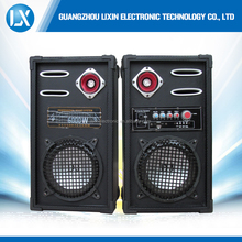 Good price wholesale high quality 8 inch 2.0 channel active speaker with bluetooth/usb/sd/fm